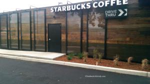 IMAG1109 Starbucks Woodburn OR 20 July 14 Drive thru side with reflective panels