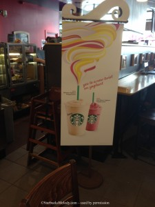 image-9 copy.jpg In store signage for new yogurt frappuccino starbucks uk ireland July 2014