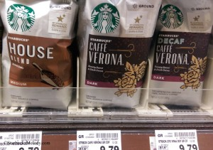 IMAG1577 Bags of grocery store coffee - U Village QFC 9 Aug 2014
