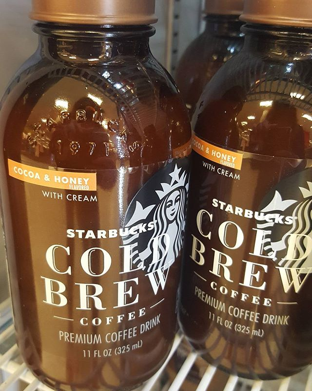Found this at Target. Looking forward to trying it! #Starbucks #coldbrew #target
