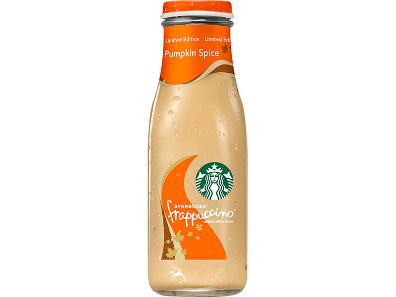 bottled pumpkin spice frappuccino media relations image