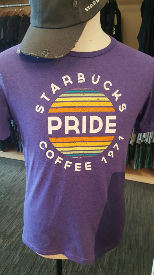 1 - 1 - 20160422 - The 2016 Starbucks pride t-shirts