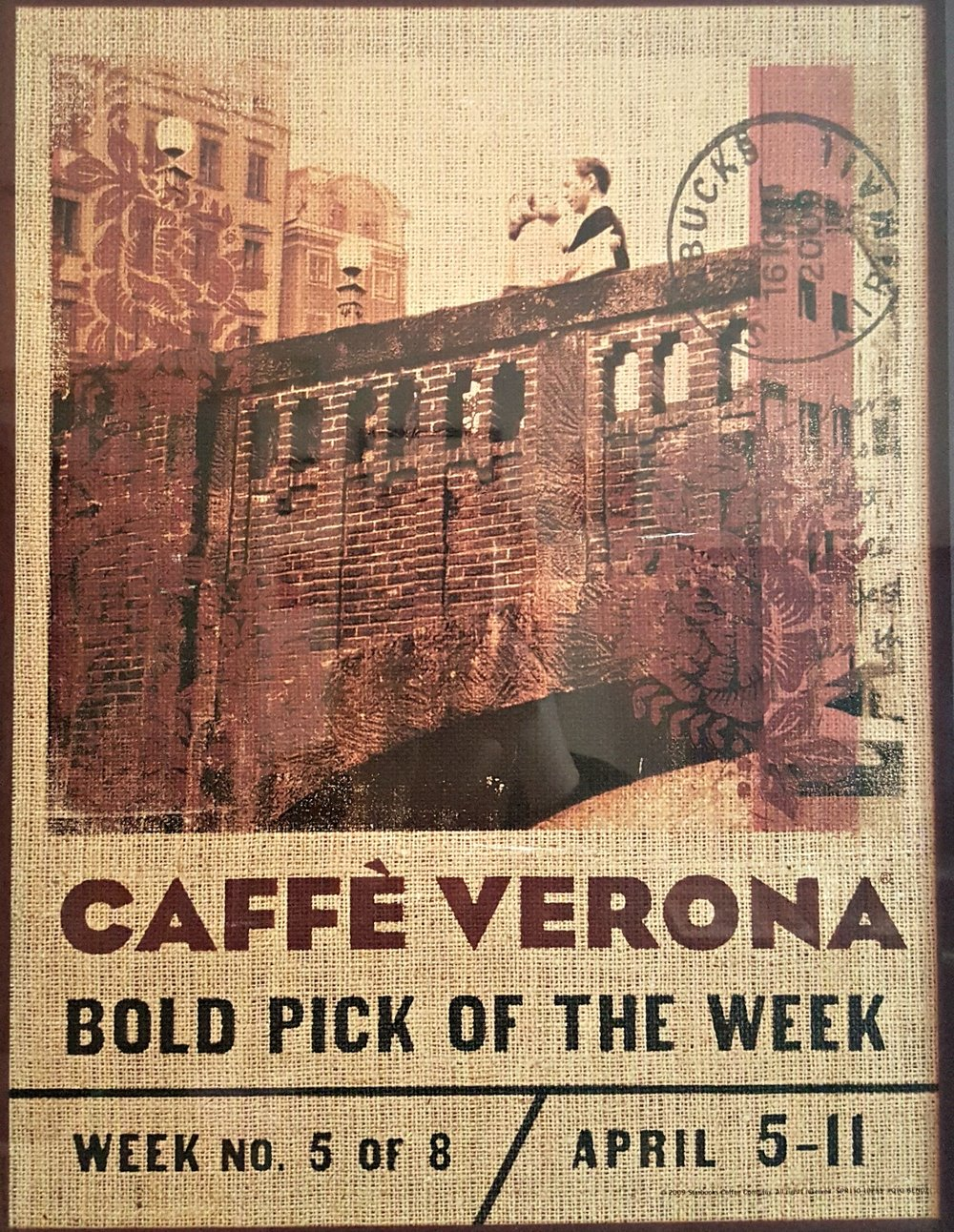 1 - 1 - 20160213_093024 Caffee Verona in store signage from spring 2009.jpg