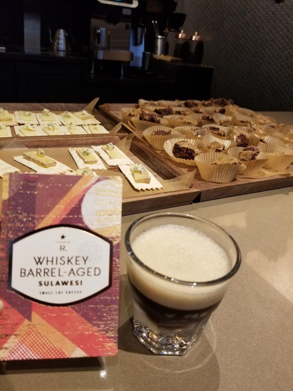 2017 Sept 6 Whiskey Barrel Aged Cold Brew tasting event.jpg