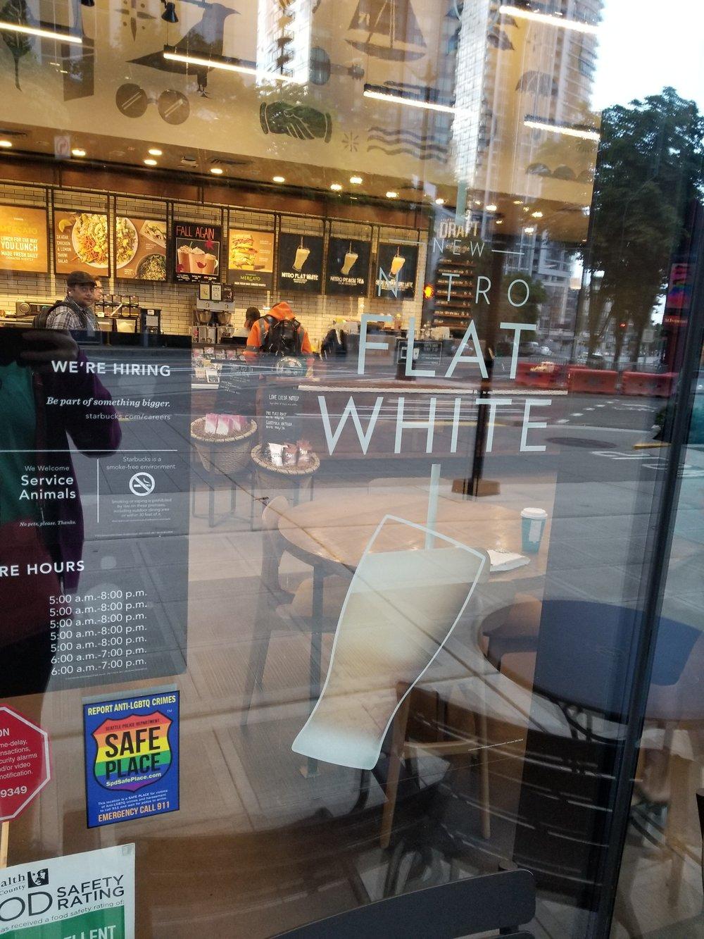 Nitro Flat White exterior sign 2017 Sept 23.jpg