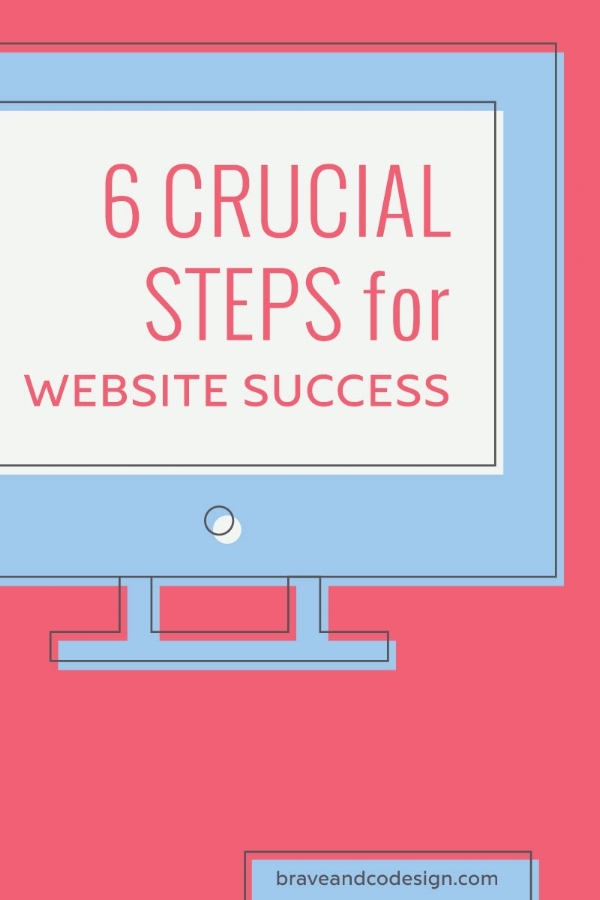 crucial steps for website success