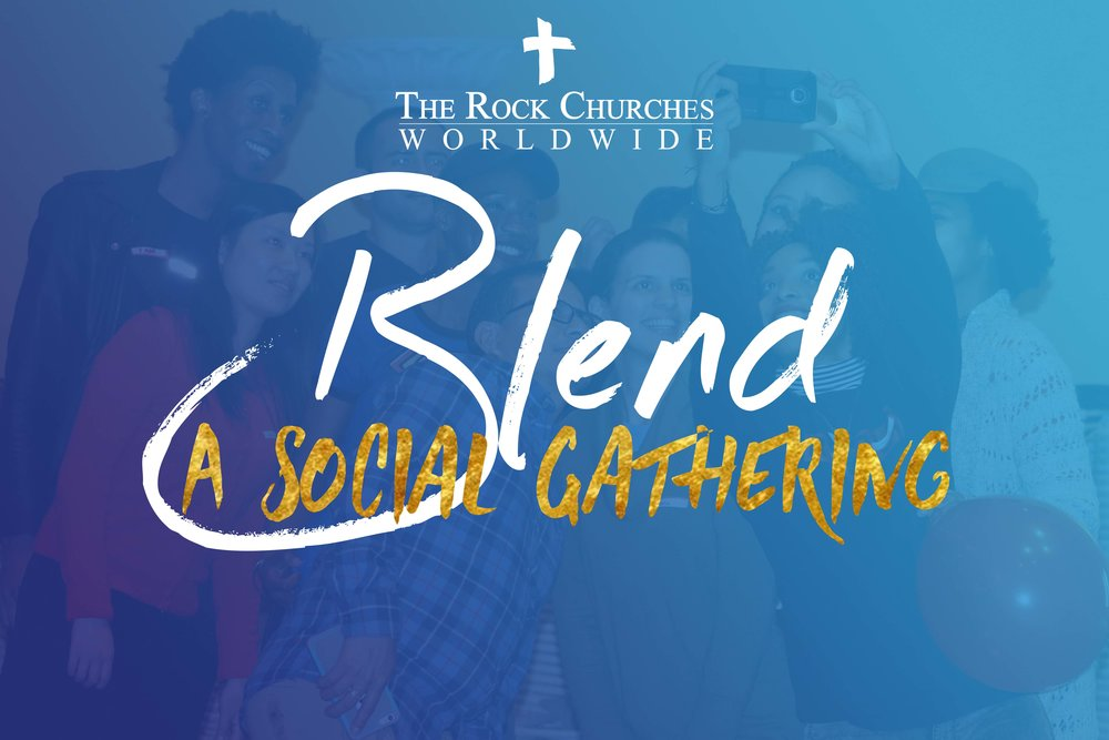Blend - Blend the social gathering! Link up, have a blast, meet new friends and join the craziness. When The Rocks get together it's an event like none other! (21+)