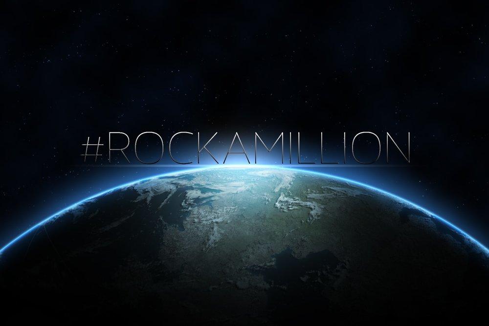 #RockaMillion - Ogni ottobre, le rocce intraprendono una campagna globale per raggiungere il globo. Da non perdere il fenomeno che ha cambiato milioni di vite!