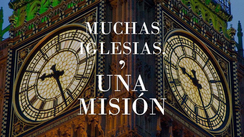 iglesias con una misión en frente de big ben reloj de la torre en londres inglaterra