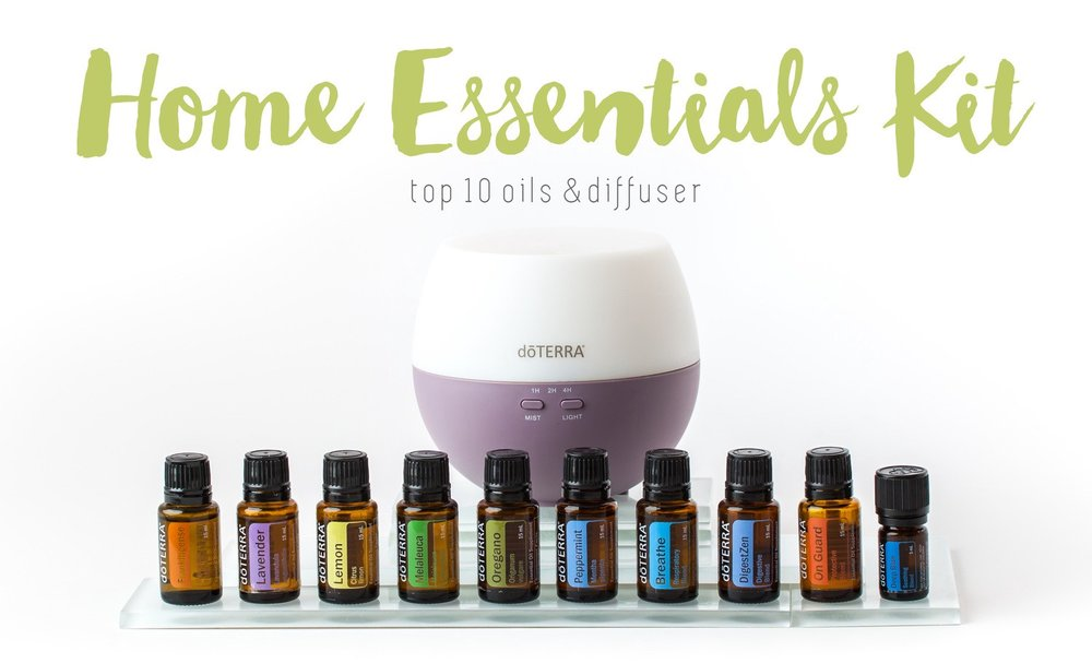 The Home Essentials Kit (wholesale $275) includes the top 10 oils that can help support and address 80% of the most common health concerns.