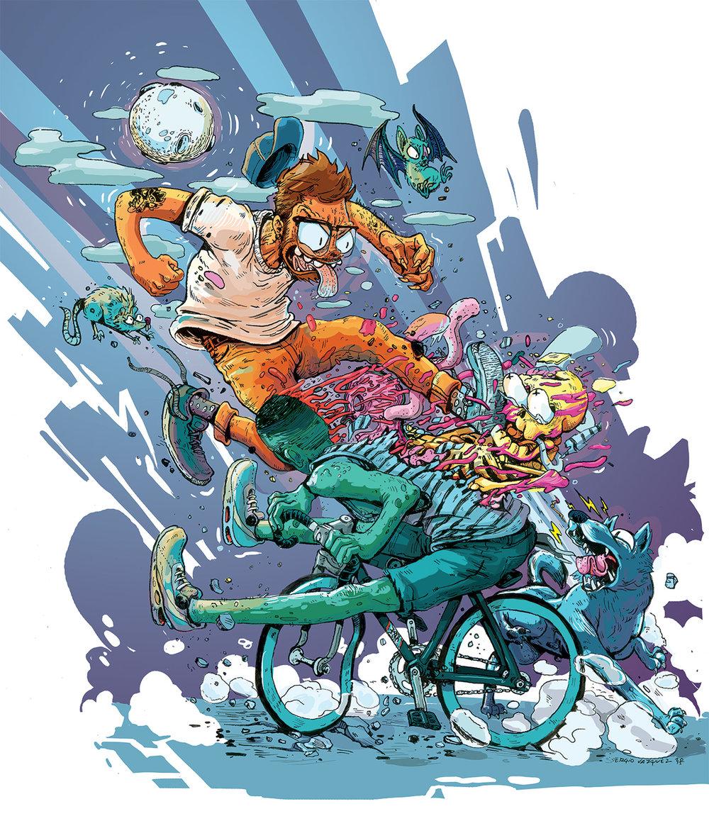 F.U. Bike thief