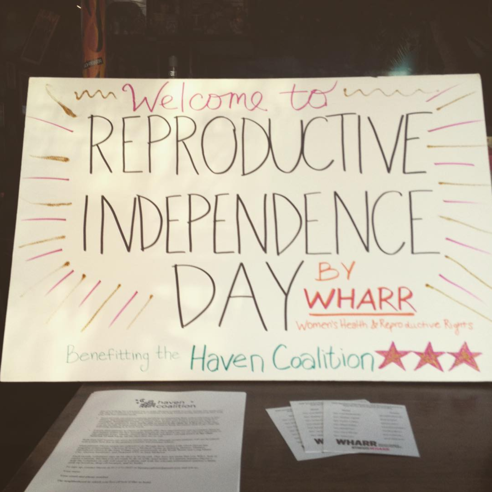 Reproductive Independence Day