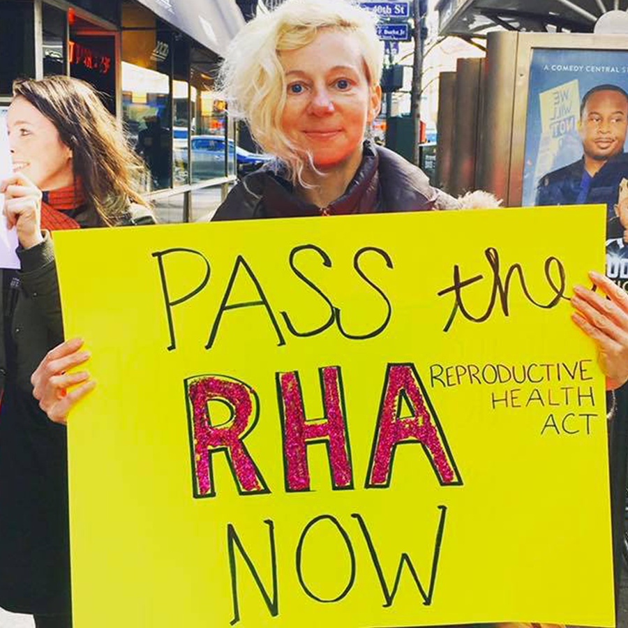 Pass the Reproductive Health Act - The RHA is crucial legislation that will improve New York State's surprisingly outdated abortion law. LEARN MORE