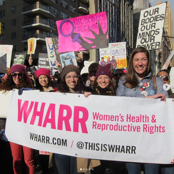 WHARRiors at the Women's March