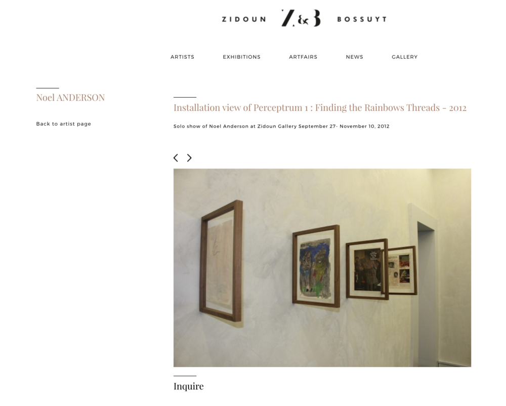 """Finding the Rainbows Threads"" (Exhibition Website)"