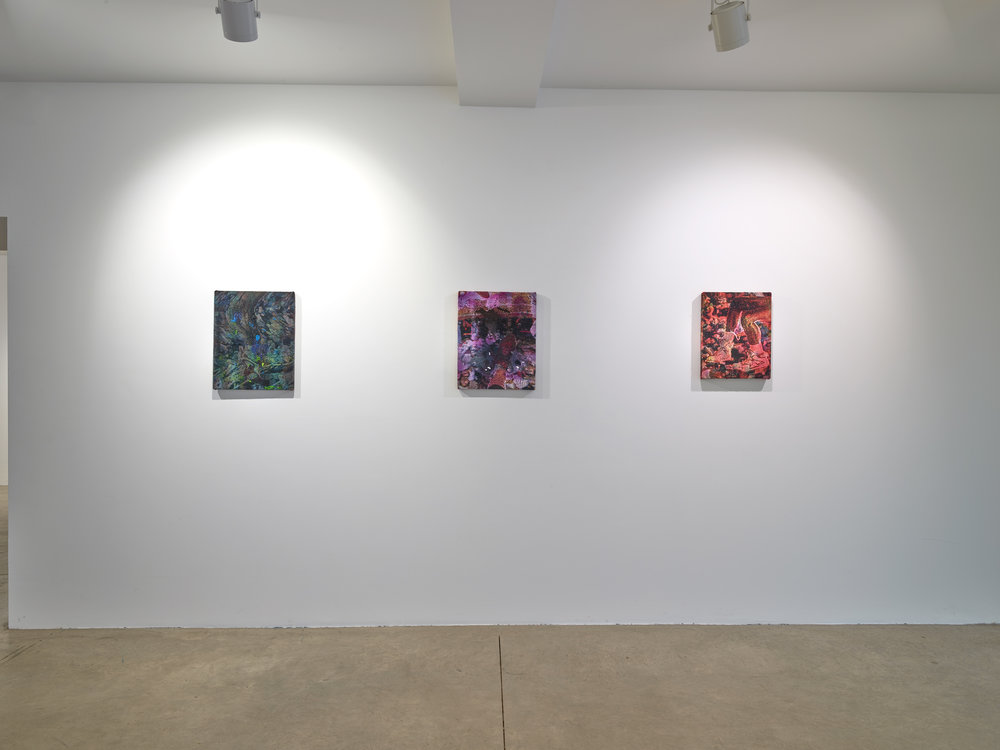 Get Lifted , Installation shot of three works, 2017