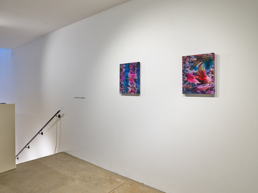 Get Lifted , Installation shot of two works, 2017