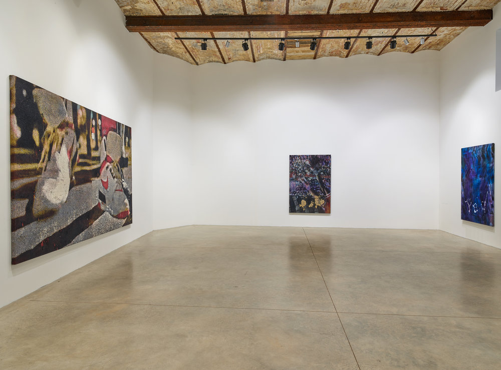 """Get Lifted , 108'"""" x 156"""" Installation shot, 2017"""