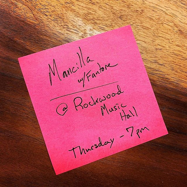 Starting the year off with my first show at @rockwoodmusichall tomorrow at 7pm! With none other than @younginstagramer 👍 #lawyersofinstagram 🎼 #musicians