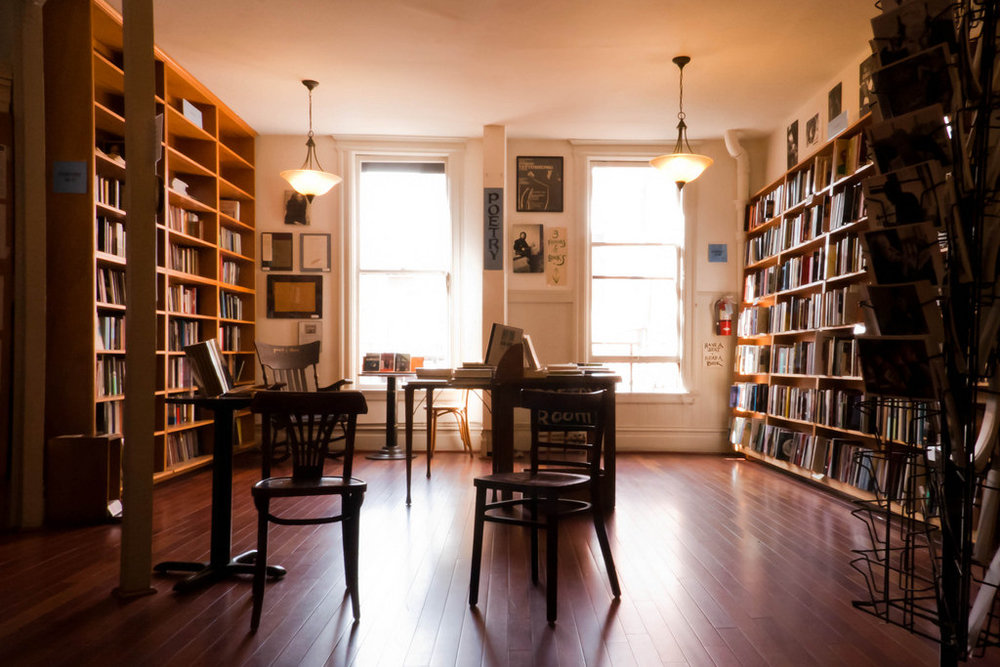 City Lights Bookstore, Poetry Room