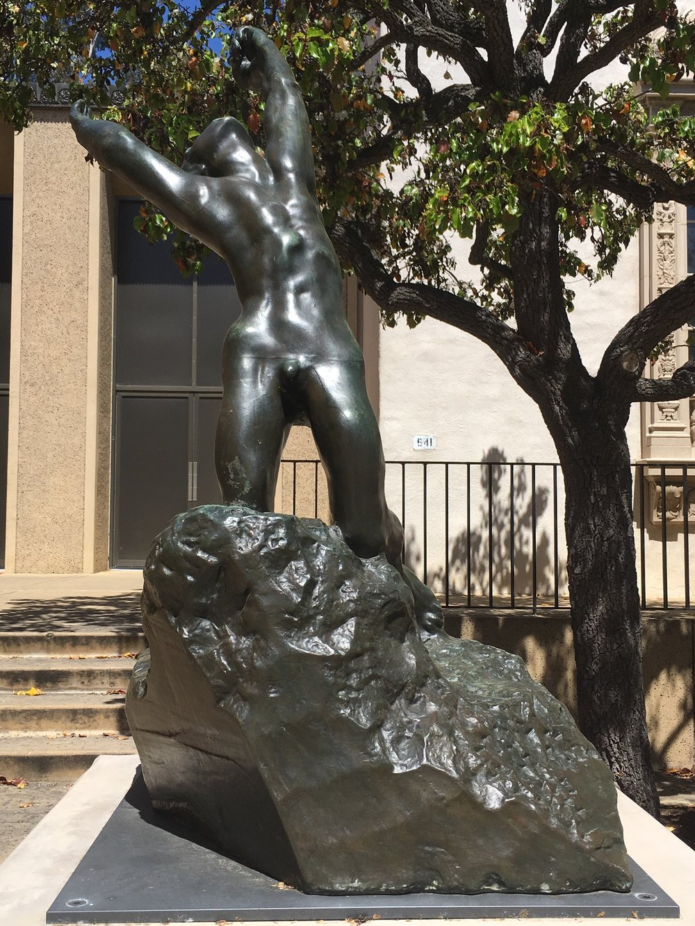 """The Prodigal Son,"" by Auguste Rodin, 1905."