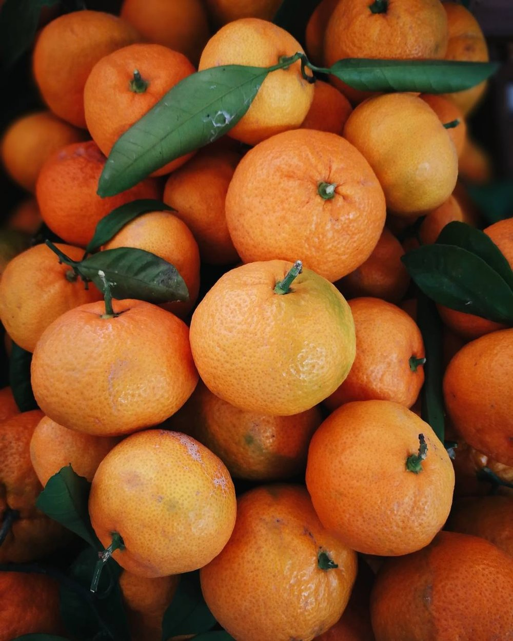 Tangerines & Mandarins - Algerian/Clementine Tangerines (sweet with seeds) & Satsuma Mandarins (sweet-tangy and seedless).