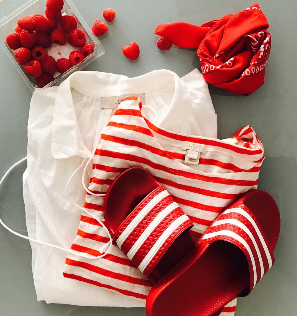 Red and White - July 2017