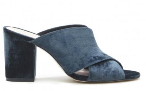 Blue Velvet Shoes - August 2017