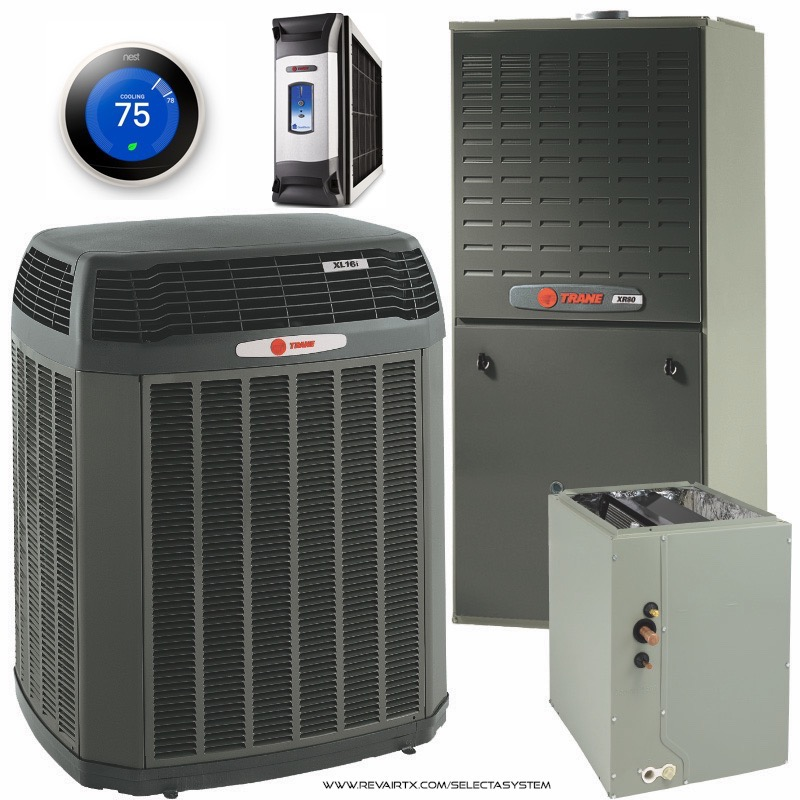 Houston's Best Trane Installers - Revolution Air | We're There