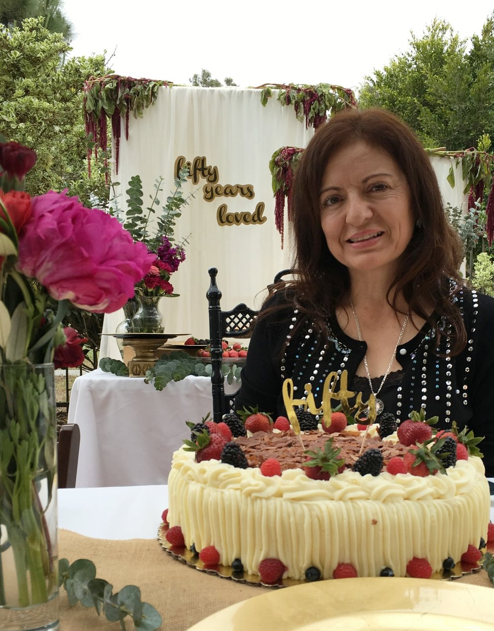 50th Birthday Celebration For Our Little Sister Ofelia