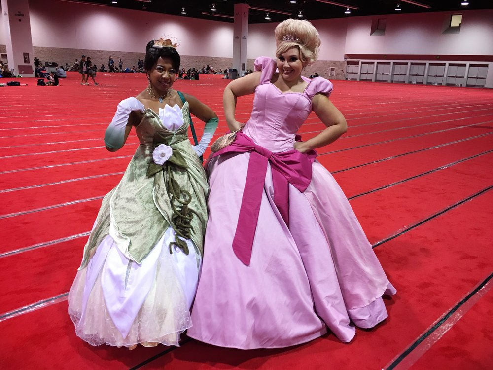 Princess Thiana & 'Lotti'