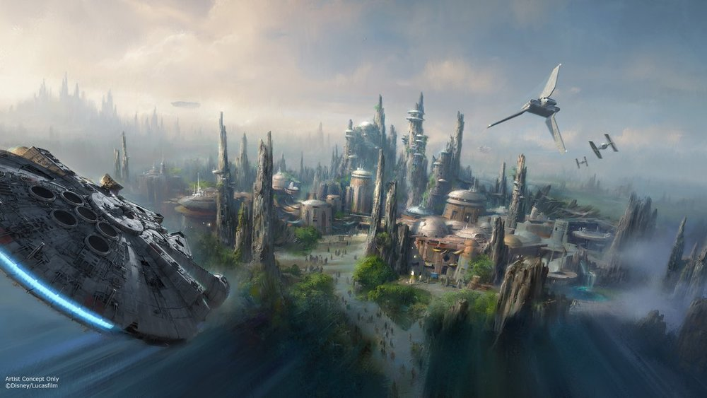 Star Wars: Galaxy's Edge Artist Concept