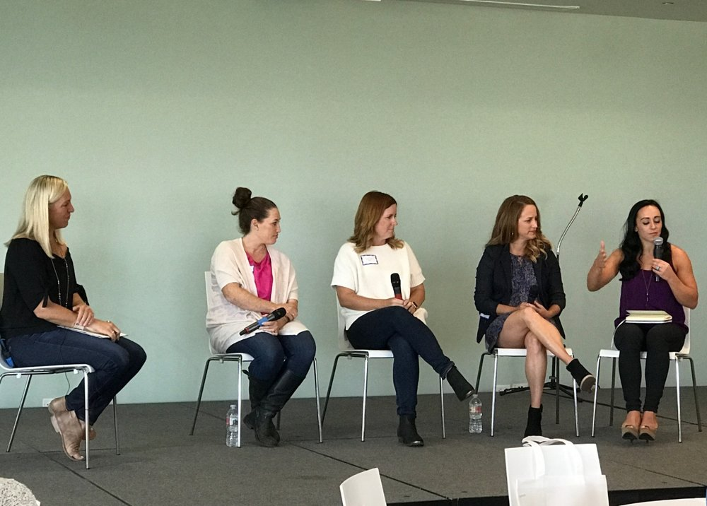 Photo By MomWarrior | Panel at MomWarrior Los Angeles