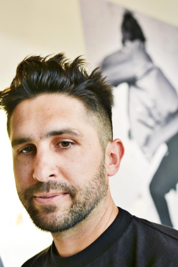 LA-Designer Chris Stamp during the SPANST preview on April 17, 2018.