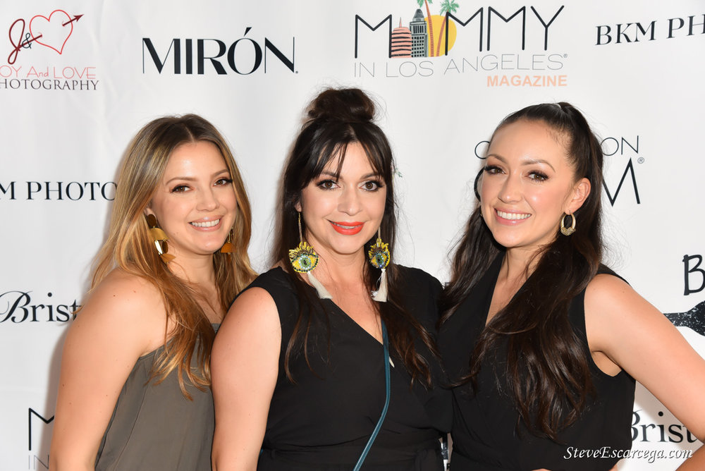 Mommy In Los Angeles® Magazine Founders (From L to R): Irene, Anabel & Frances Marquez.
