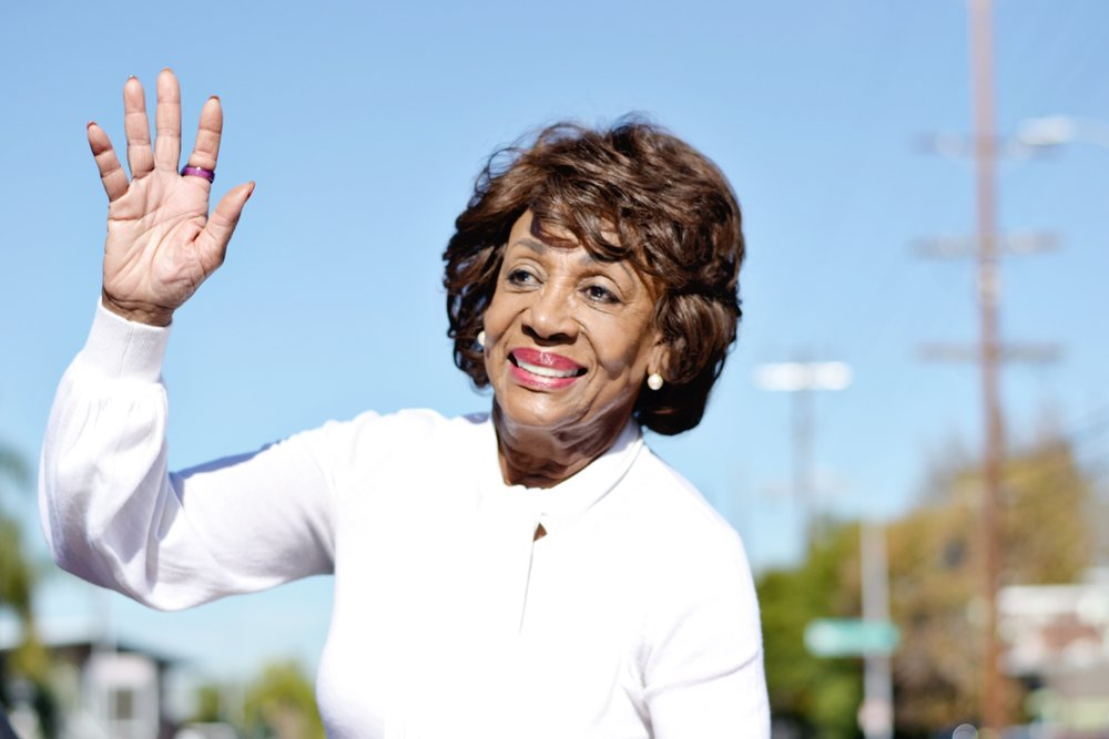 Congresswoman Maxine Waters at the Watts Christmas Parade on Saturday, December 8, 2018.