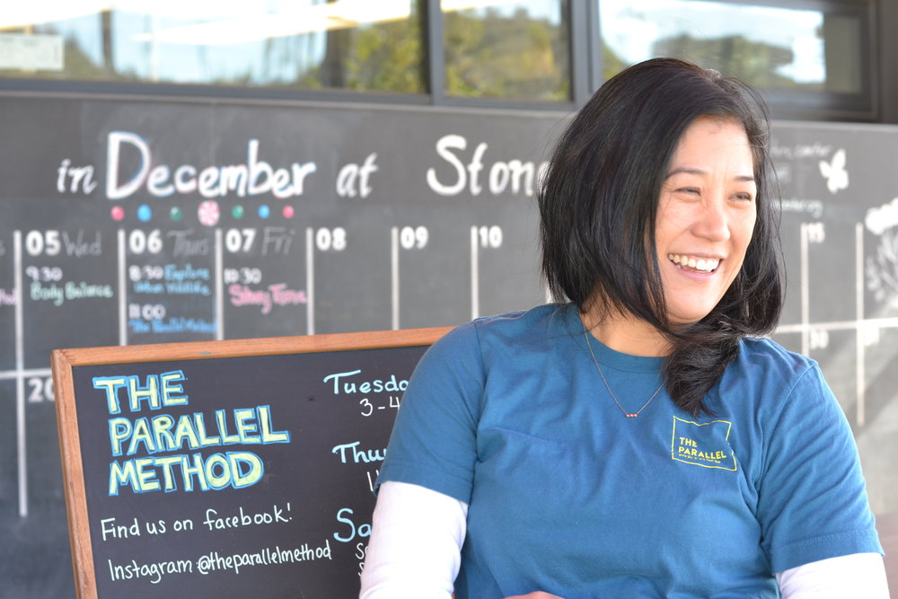 Angie Poston, Founder & CEO, The Parallel Method in Culver City.