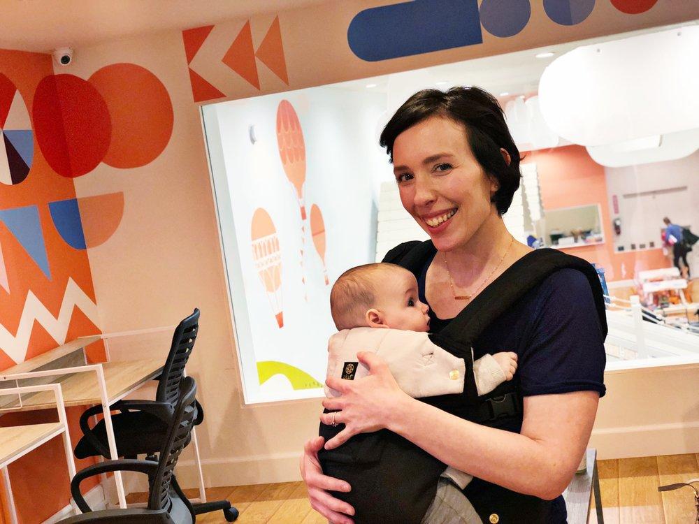 Wiggle & Work Founder & Chief Executive Mom, Naomi Leight-Giveon.