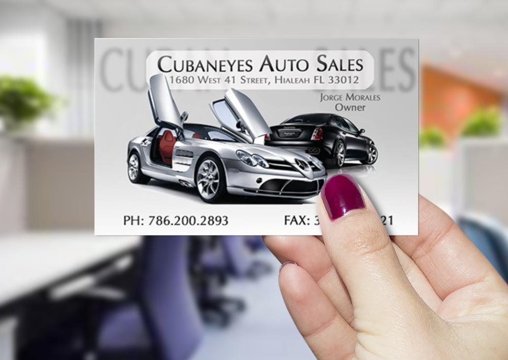 CUBANEYES AUTO SALES by @CUBODEKUBRICK