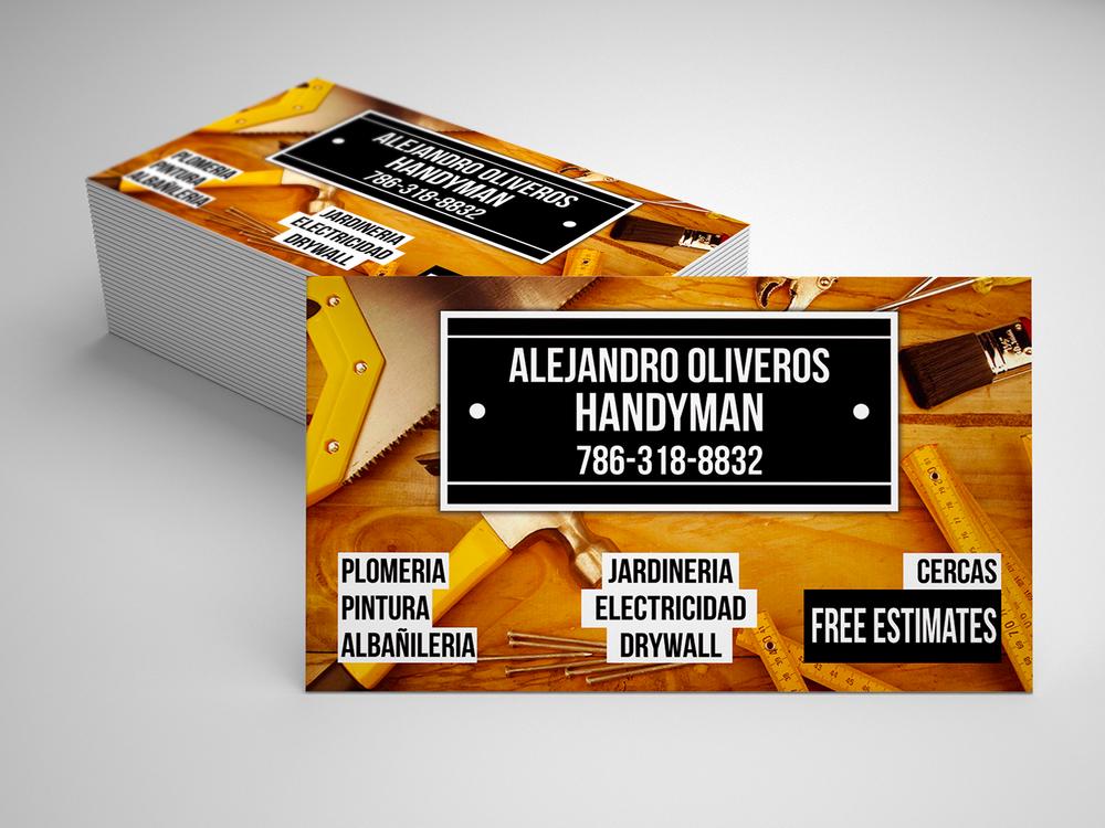 Alejandro Oliveros - Handyman