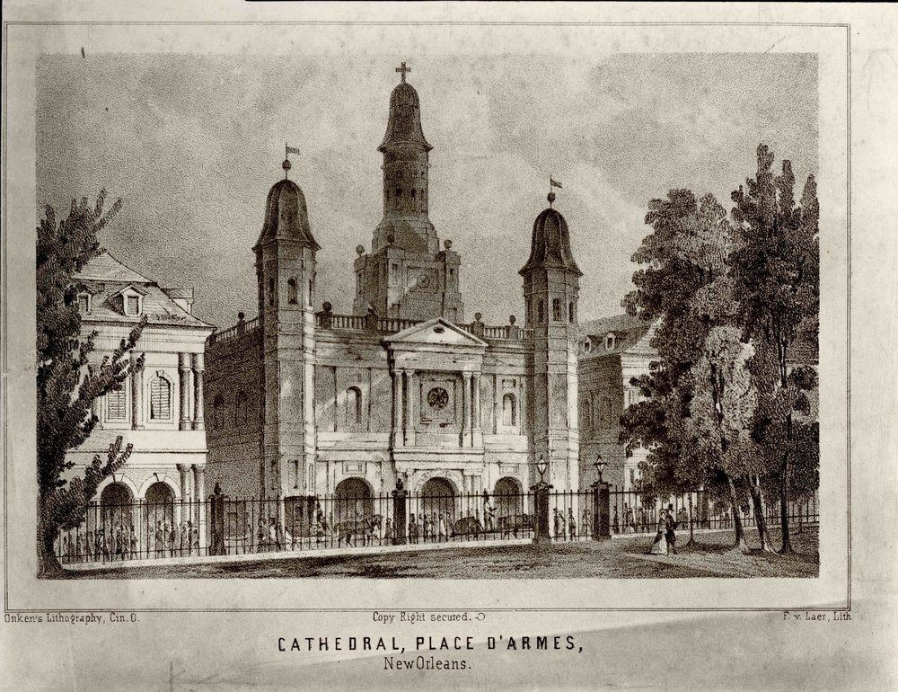 St. Louis Cathedral 1848
