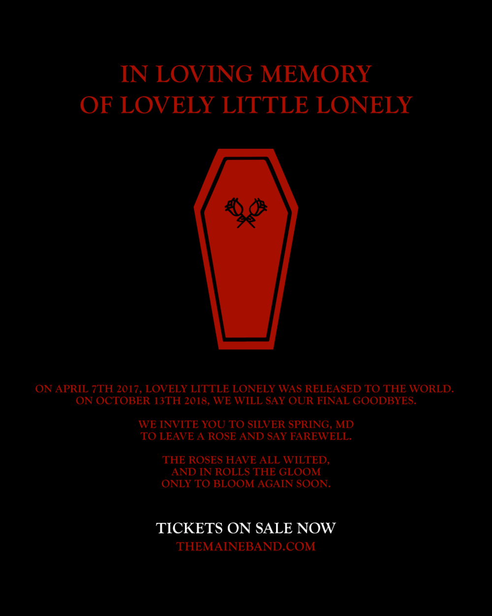 The Maine - ON SALE NOW.png