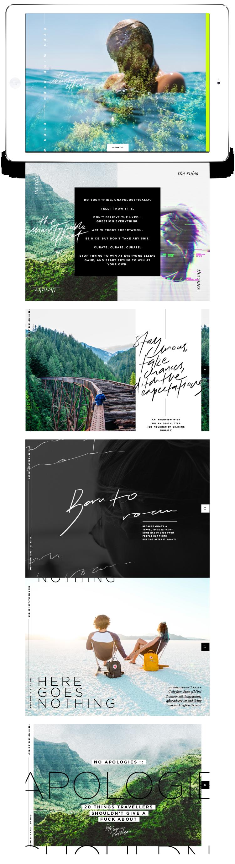 The Unmistakable Effect :: Digital Magazine | theunmistakableeffect.co