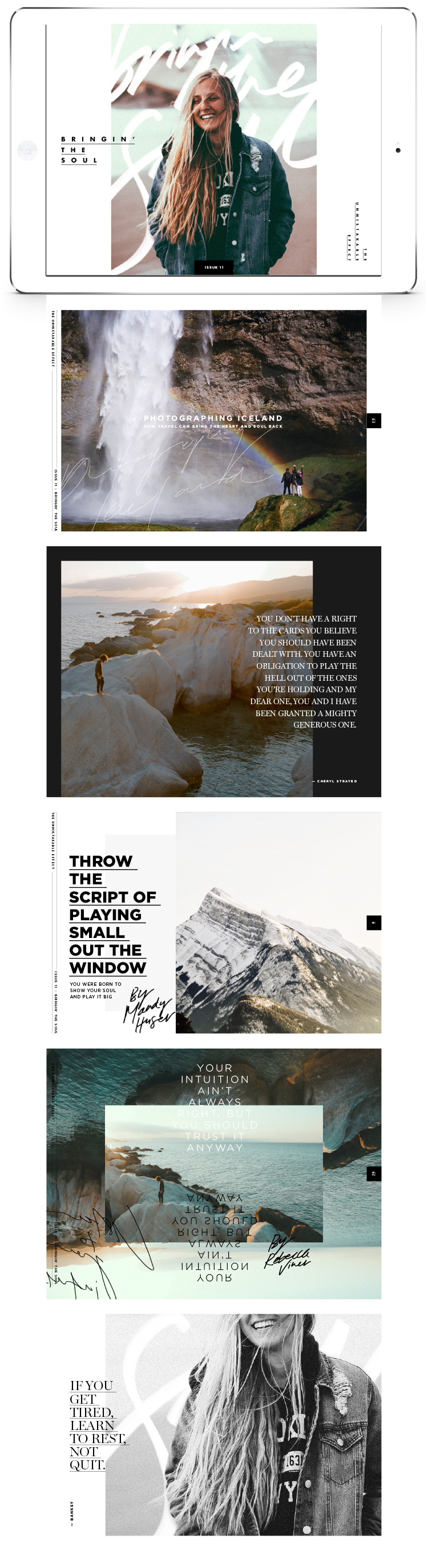The Unmistakable Effect | Issue 11 | http://theunmistakableeffect.co/