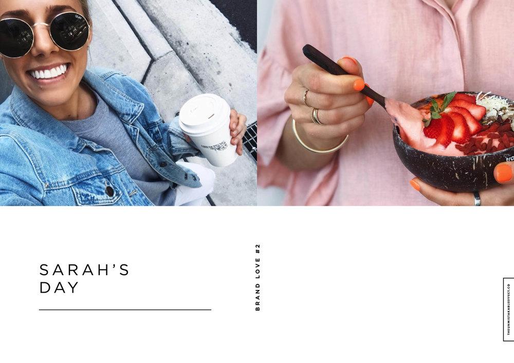 Images via Sarah's Day Instagram