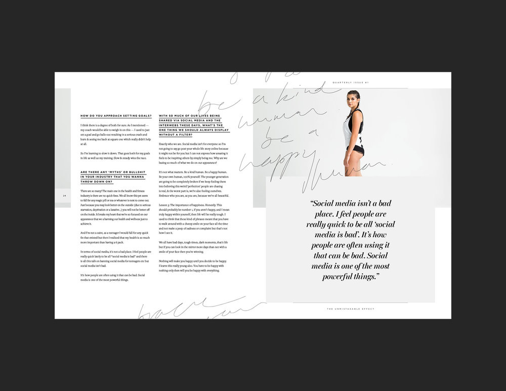 What It Takes | Behind the scenes of an indie print magazine | http://theunmistakableeffect.co/