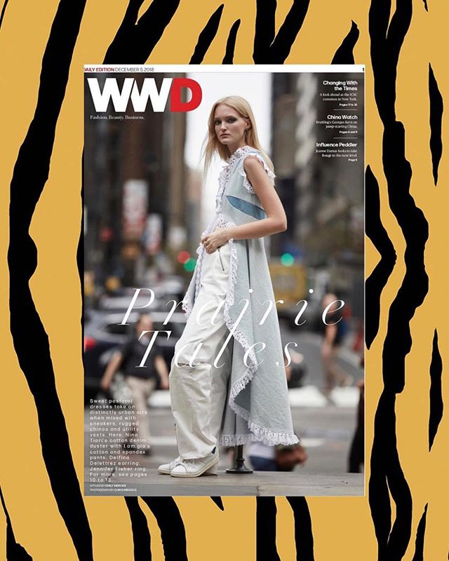 #NiNATiARi on the cover of @wwd 🔥
