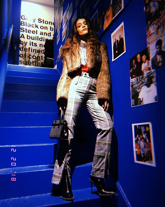 Visiting the new @defendbrooklyn store in LES 🌟 wearing #NiNATiARi AW18 ✨