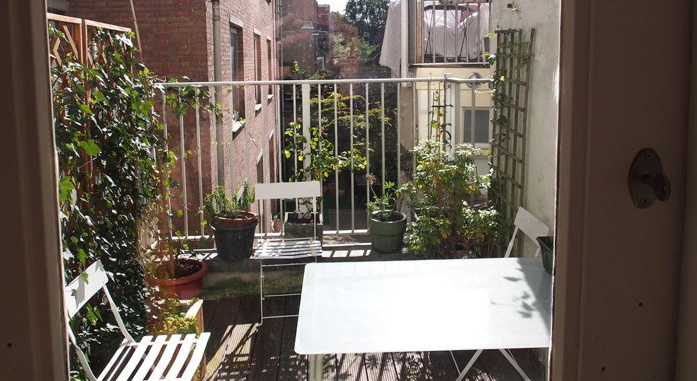 Doorway to Terrace