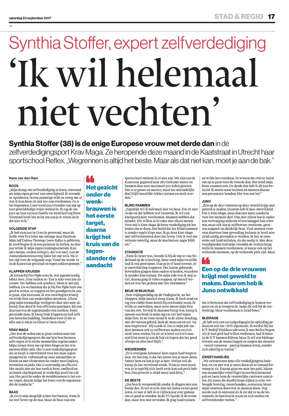 AD Utrecht over Synthia Stoffer01